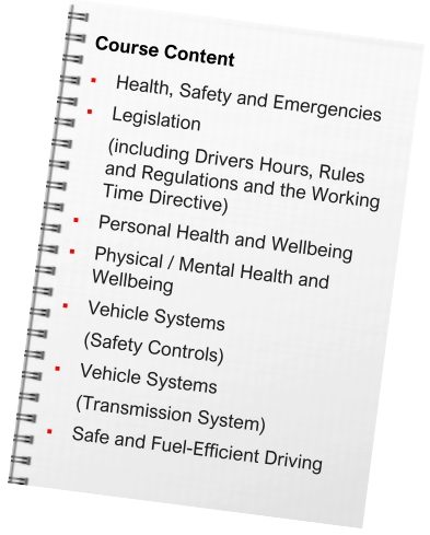 Workplace Safety & Driver Care